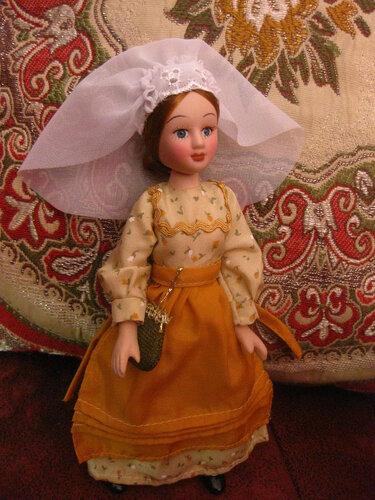 Куклы в Костюмах Народов Мира №42 - Бельгия