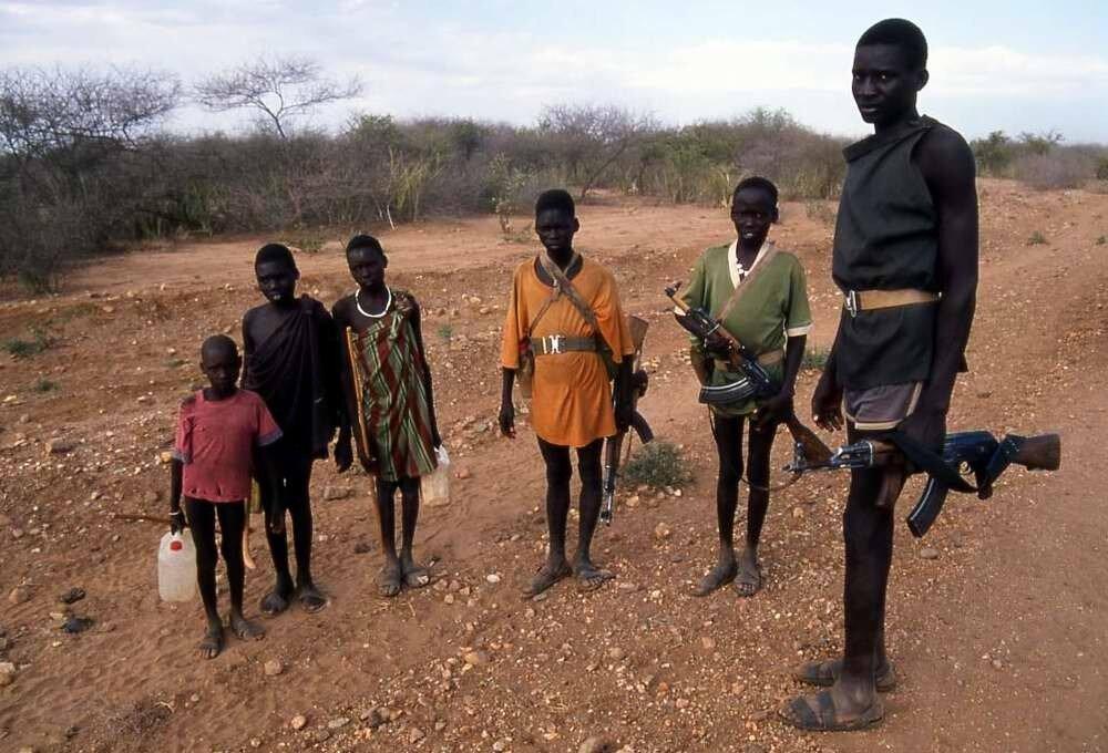 Дети солдаты - Сомали (2)