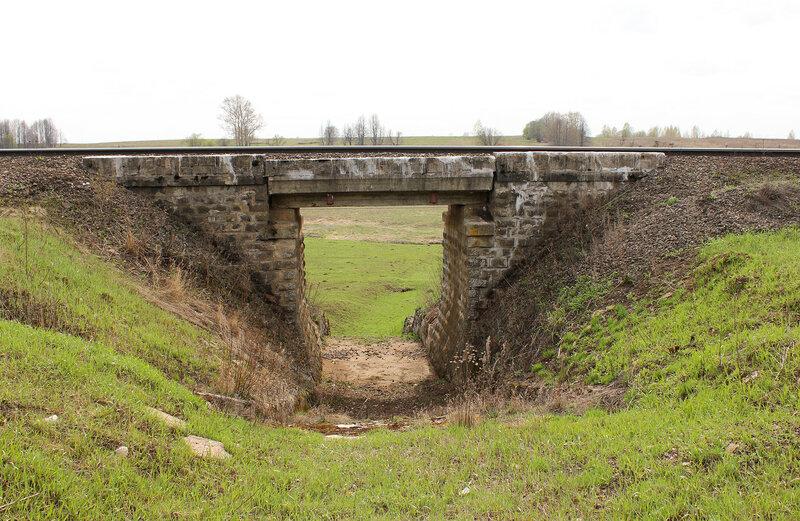 Мост на перегоне Бартенево - Зубцов
