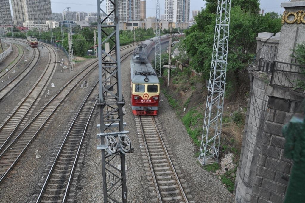 Железная дорога в Харбине