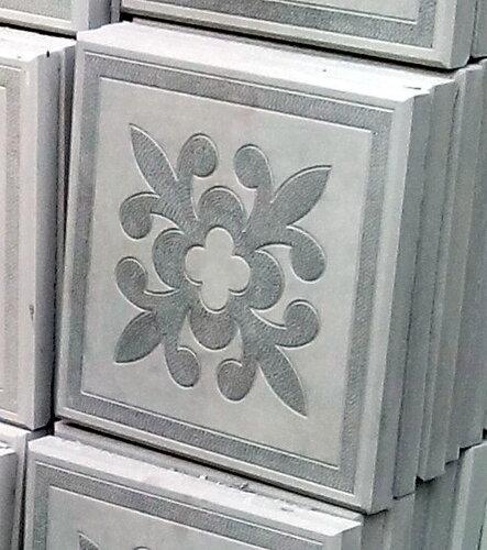 Плитка декоративная Цветок