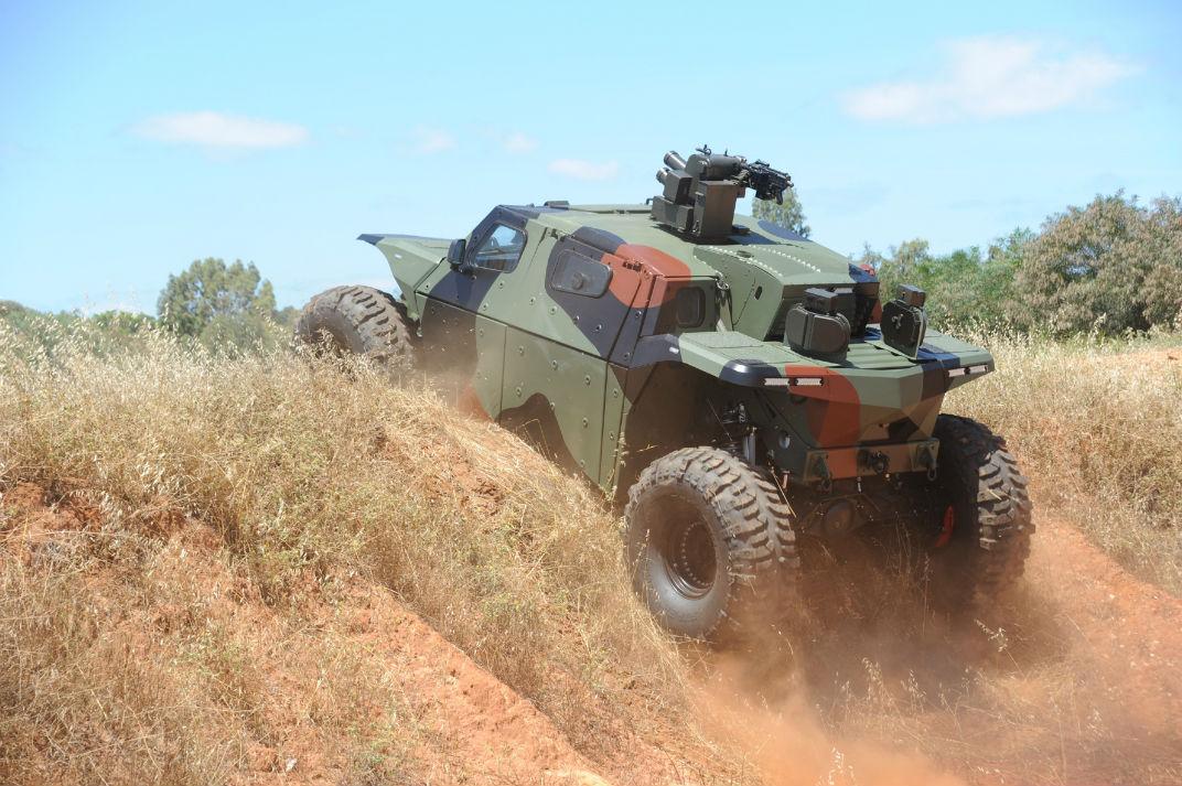 Вездеход Combat Guard