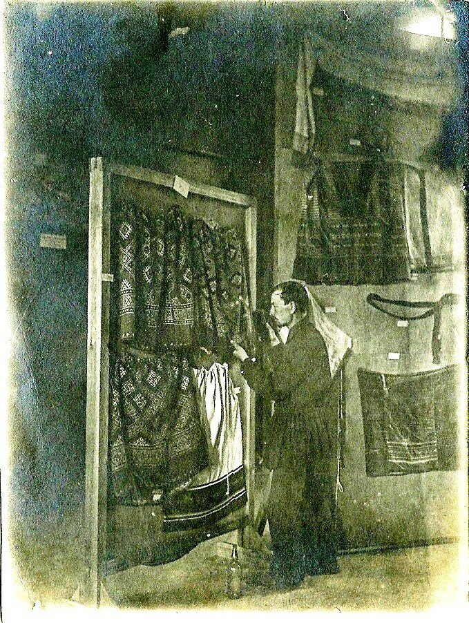 1925. В Музее ЦПО в Москве