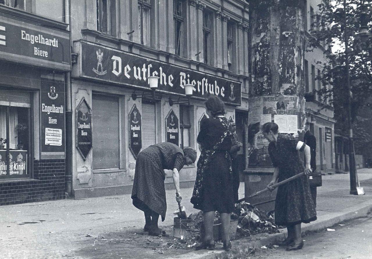 1945. Берлин. Мир, труд, май