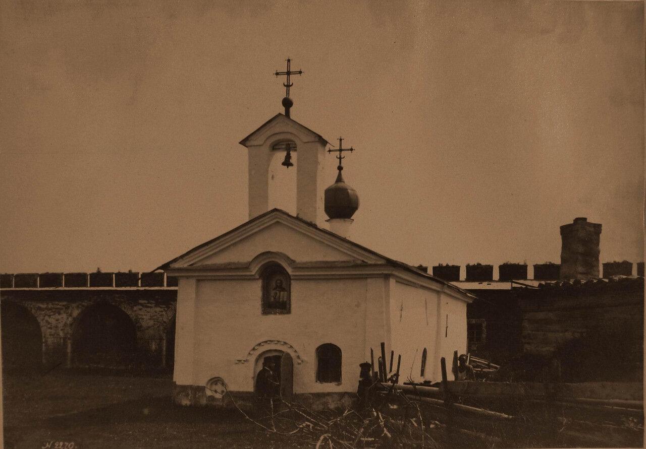 Вид на церковь Св. Андрея Стратилата в Кремле (к.XVII -н.XVIII в.)