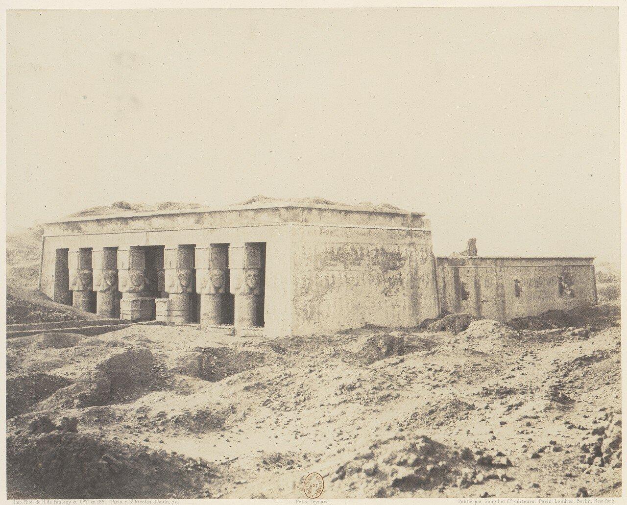 Дендера. Храм Исиды. Общий вид