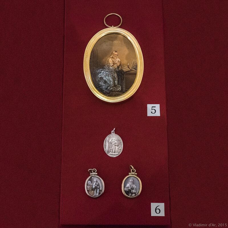 Икона «Преподобный Серафим» и образки Преподобного Серафима Саровского