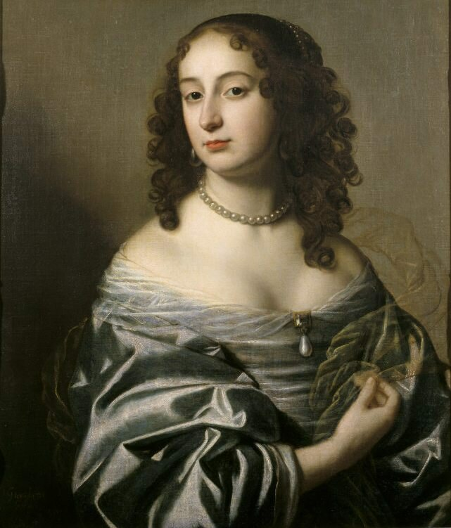 PRINCESS SOPHIA by Gerard van Honthorst (1590-1656) at Ashdown House