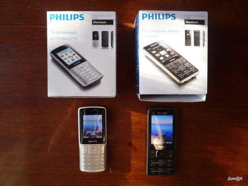 Philips Xenium X130 и X1560