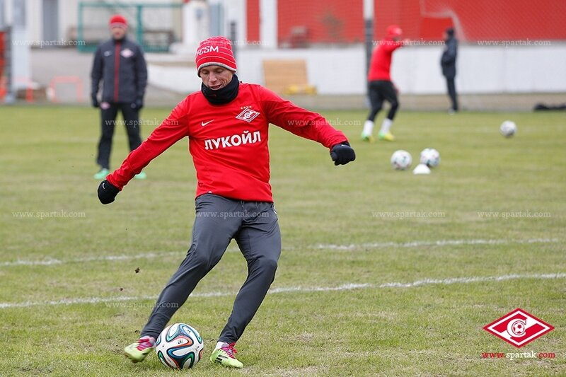 Первая тренировка «Спартака» под руководством Дмитрия Гунько (Фото)