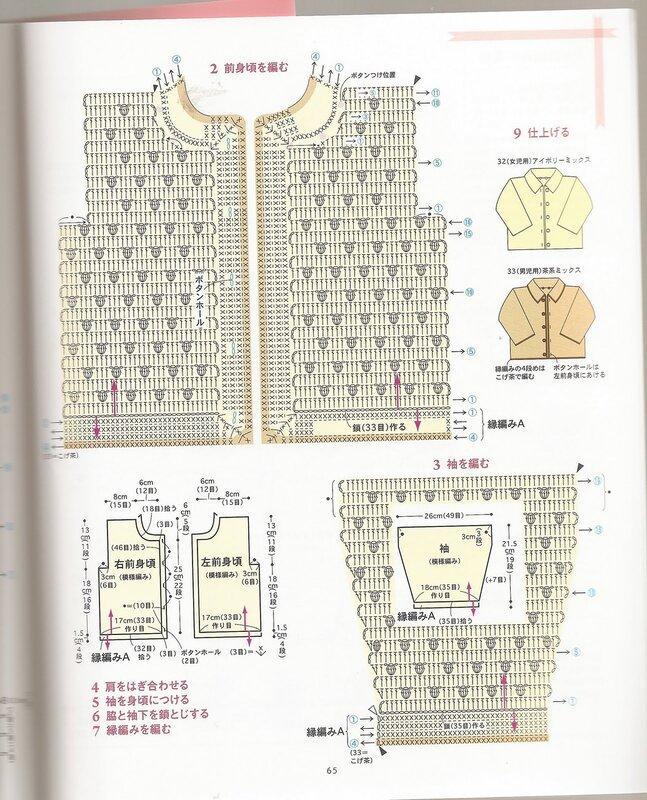 Схемы японские журналы по вязанию для детей