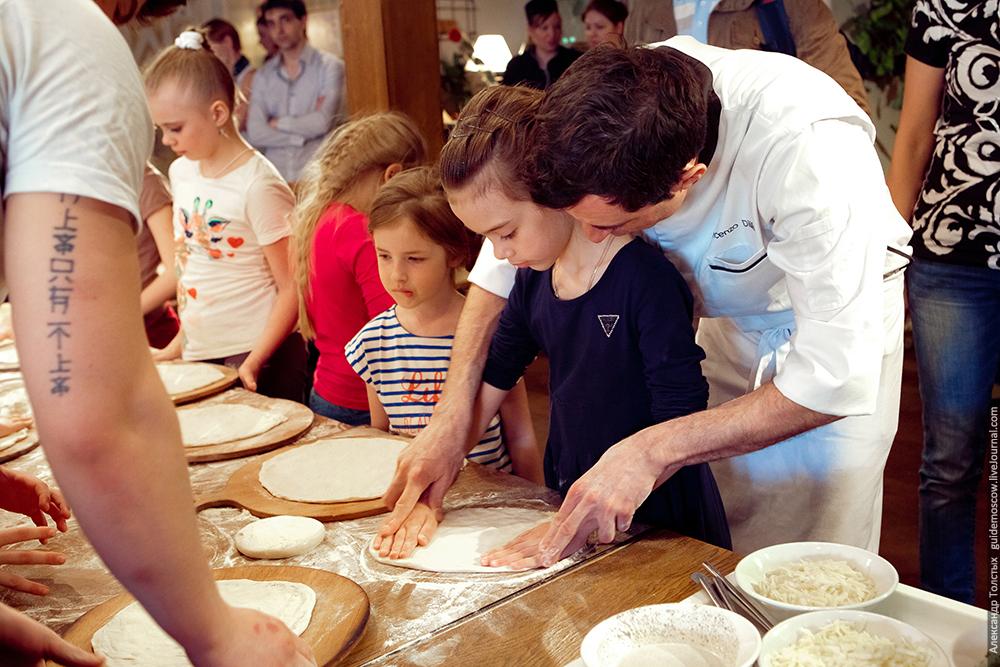 Изготовление пиццы - мастер-класс