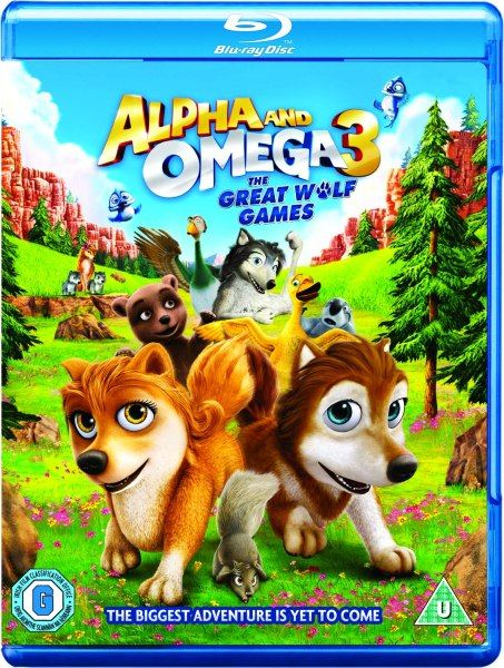 Альфа и Омега 3 / Alpha and Omega 3: The Great Wolf Games (2014) BDRip/720p + HDRip