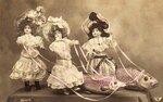 1 апреля. Куклы и рыбы открытки фото рисунки картинки поздравления