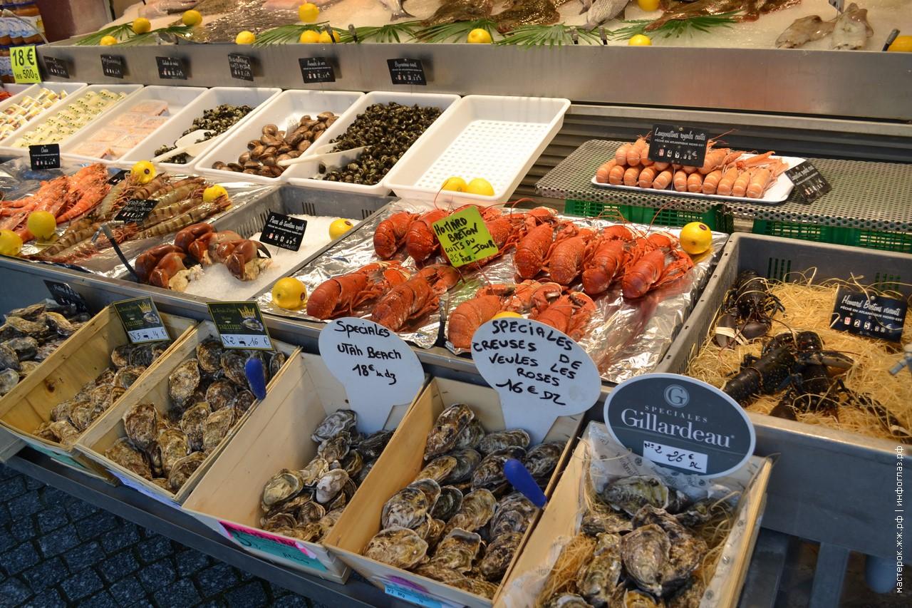 Морепродукты - не еда