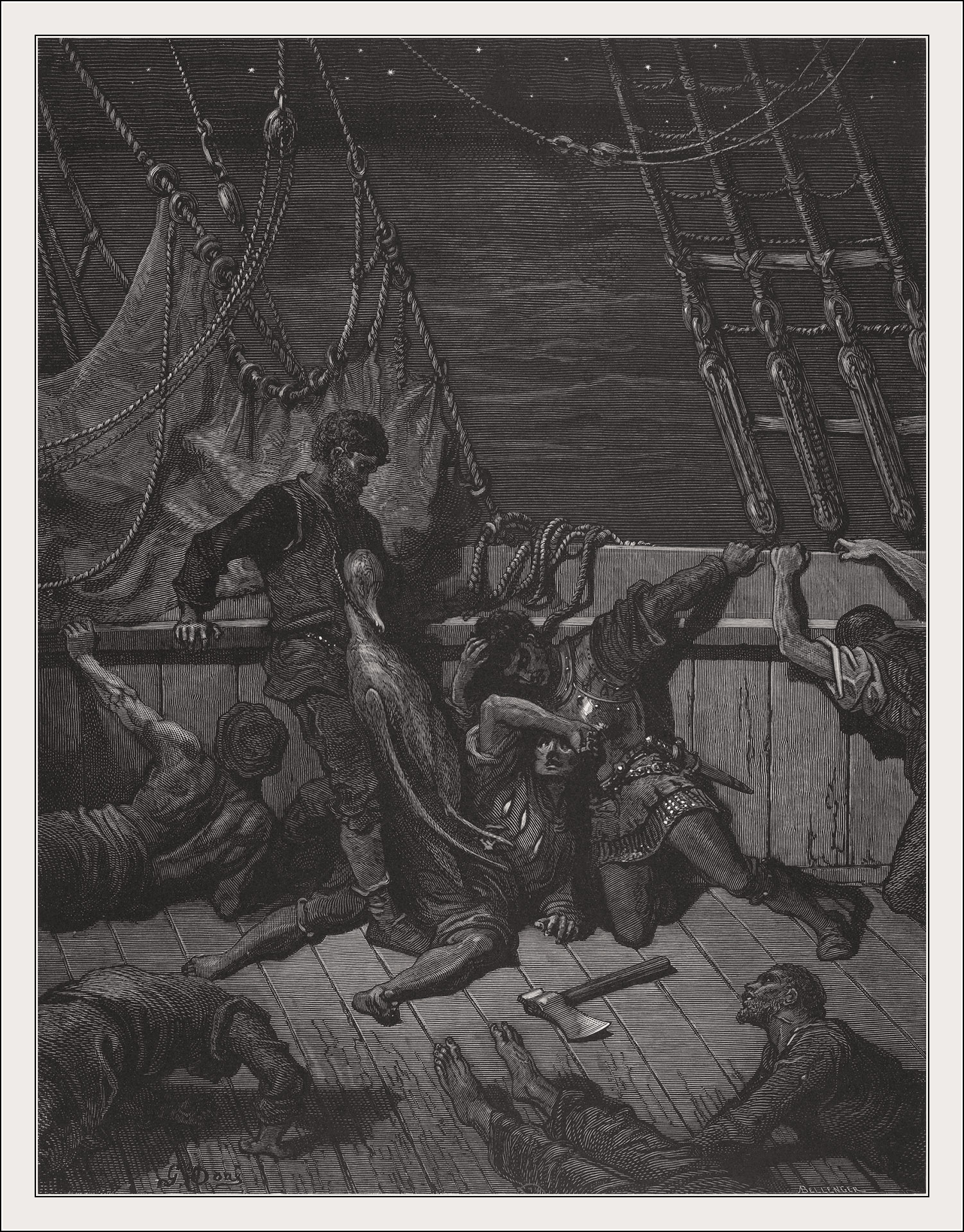 Gustave Doré, Rime of the ancient mariner