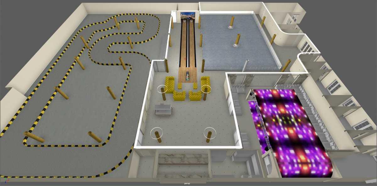 5. После завершения строительства имение будет включать два гостевых дома площадью 280 кв. метров с
