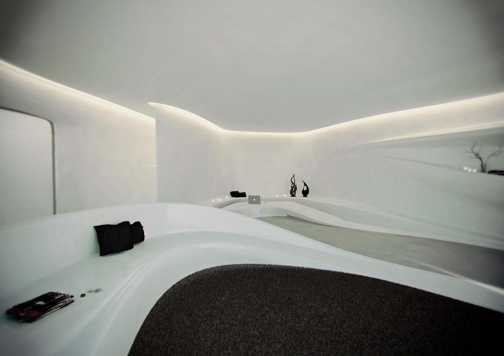 Архитектор разработал проект отеля вАльпах. Иэто просто фантастика