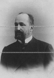 Бывший офицер бригады (портрет).