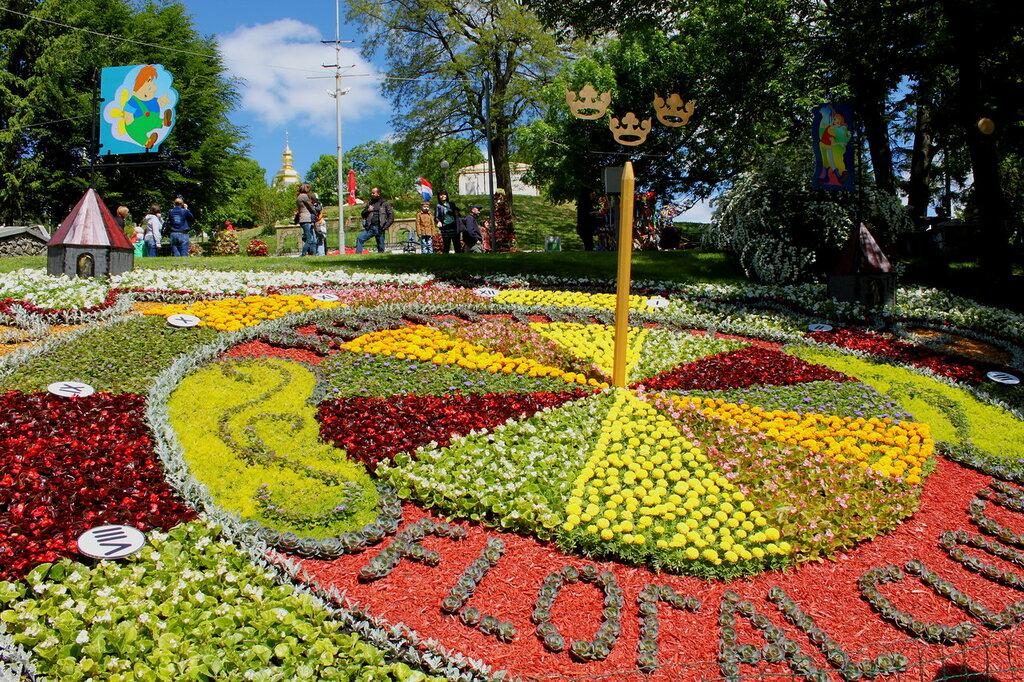 Цветочный образ Швеции