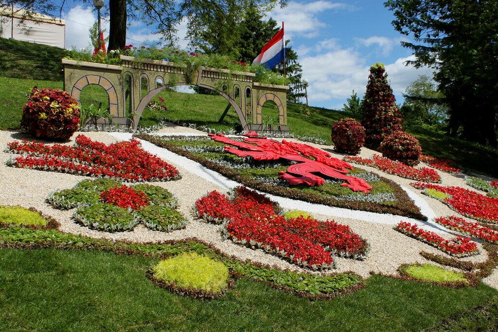 Образ Люксембурга на выставке цветов