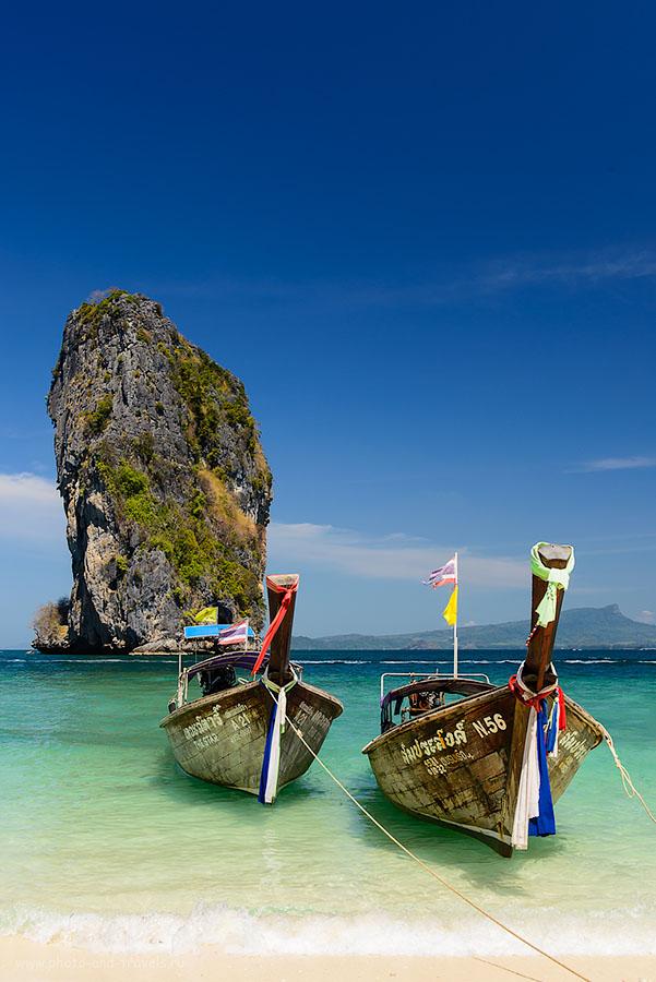 Фото 4. Фотография с островком Koh Ma Tang Ming - наверное, самый известный пейзаж на в Krabi, да и во всем Таиланде. Отчет о самостоятельном отдыхе (200, 38, 9.0, 1/160)