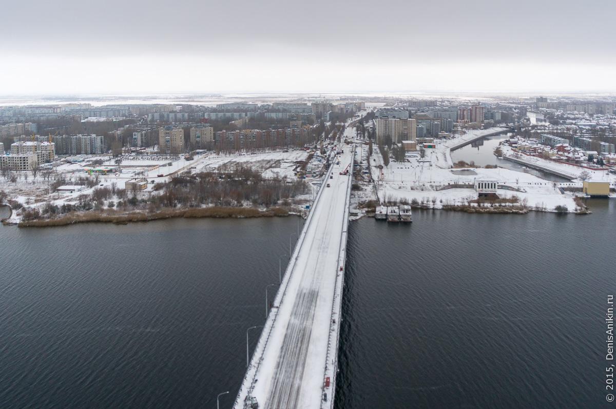 Мостовой переход через судоходный канал в Балаково 16