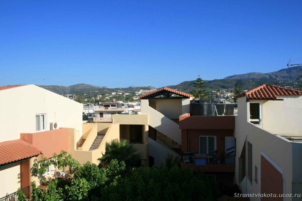 Крит, Dimitrios Village, Вид с нашего балкона