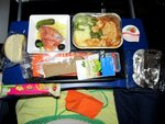 Ужин в самолете