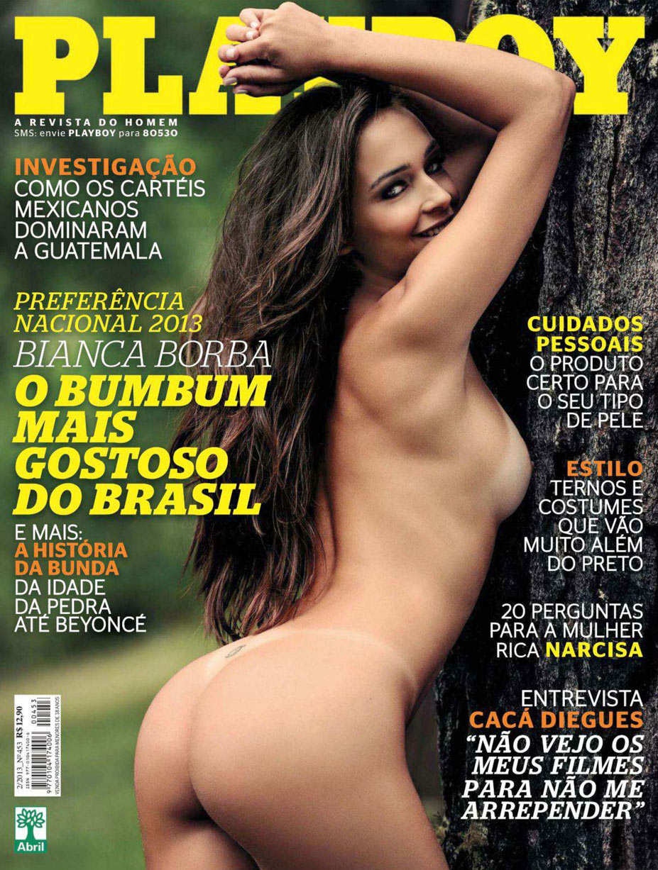 Bianca Borba - playmate of the february 2013 / Playboy Brazil