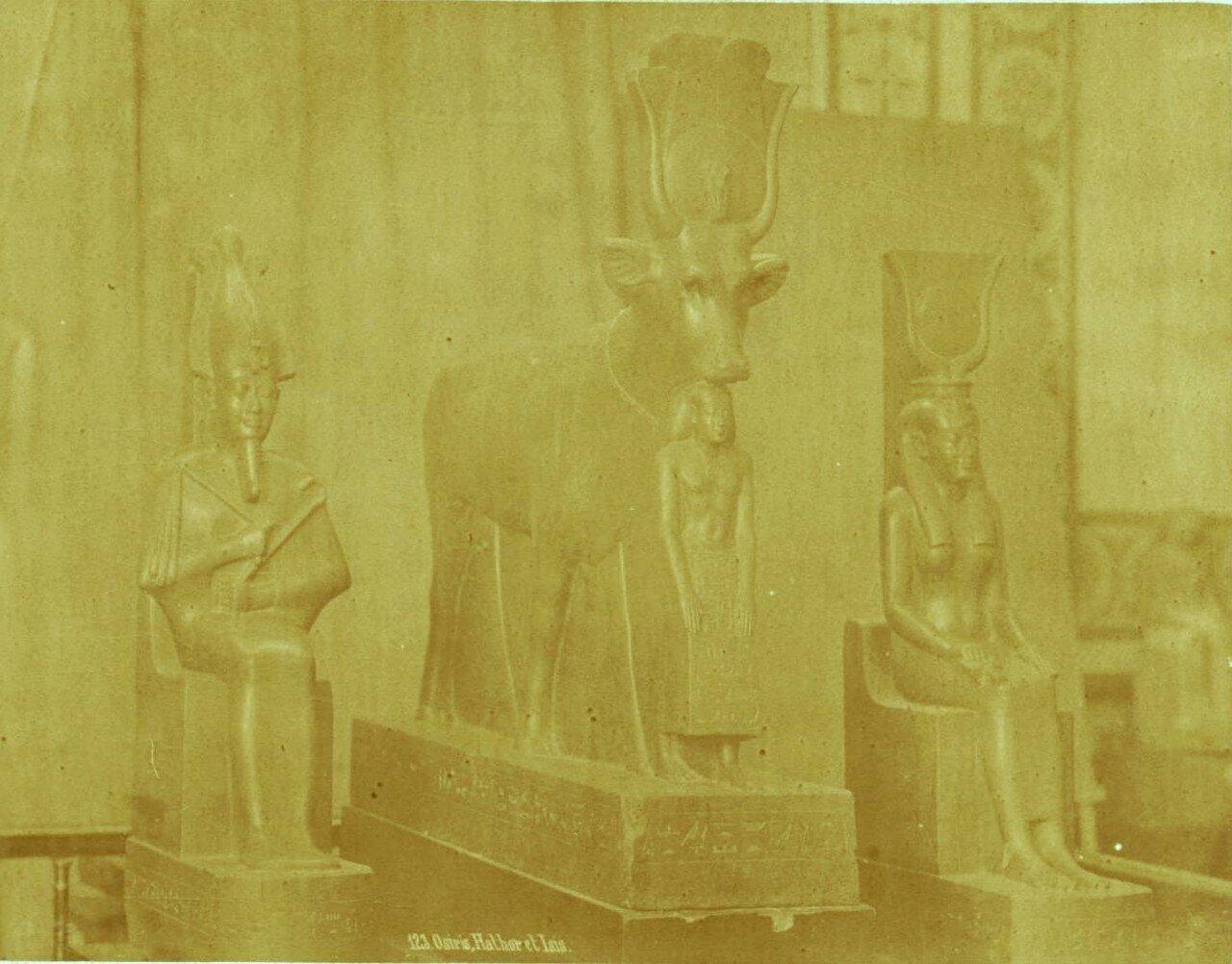 Осирис, Хатхор и Исида