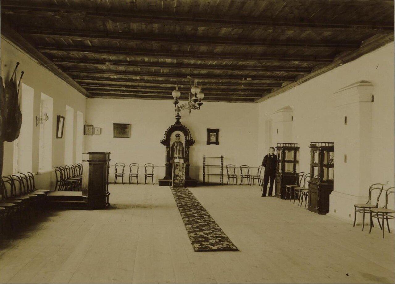 18. Верхний этаж главного здания. Рисовальный зал