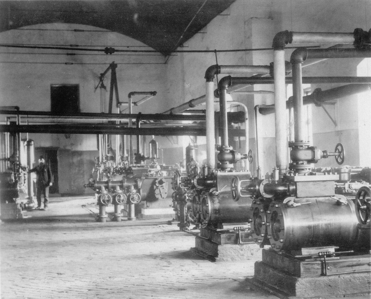 Насосная станция на заводе Нобеля