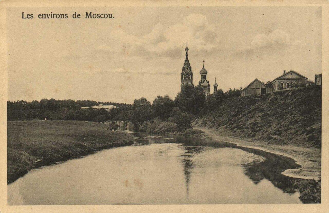 Окрестности Москвы. Село Черкизово