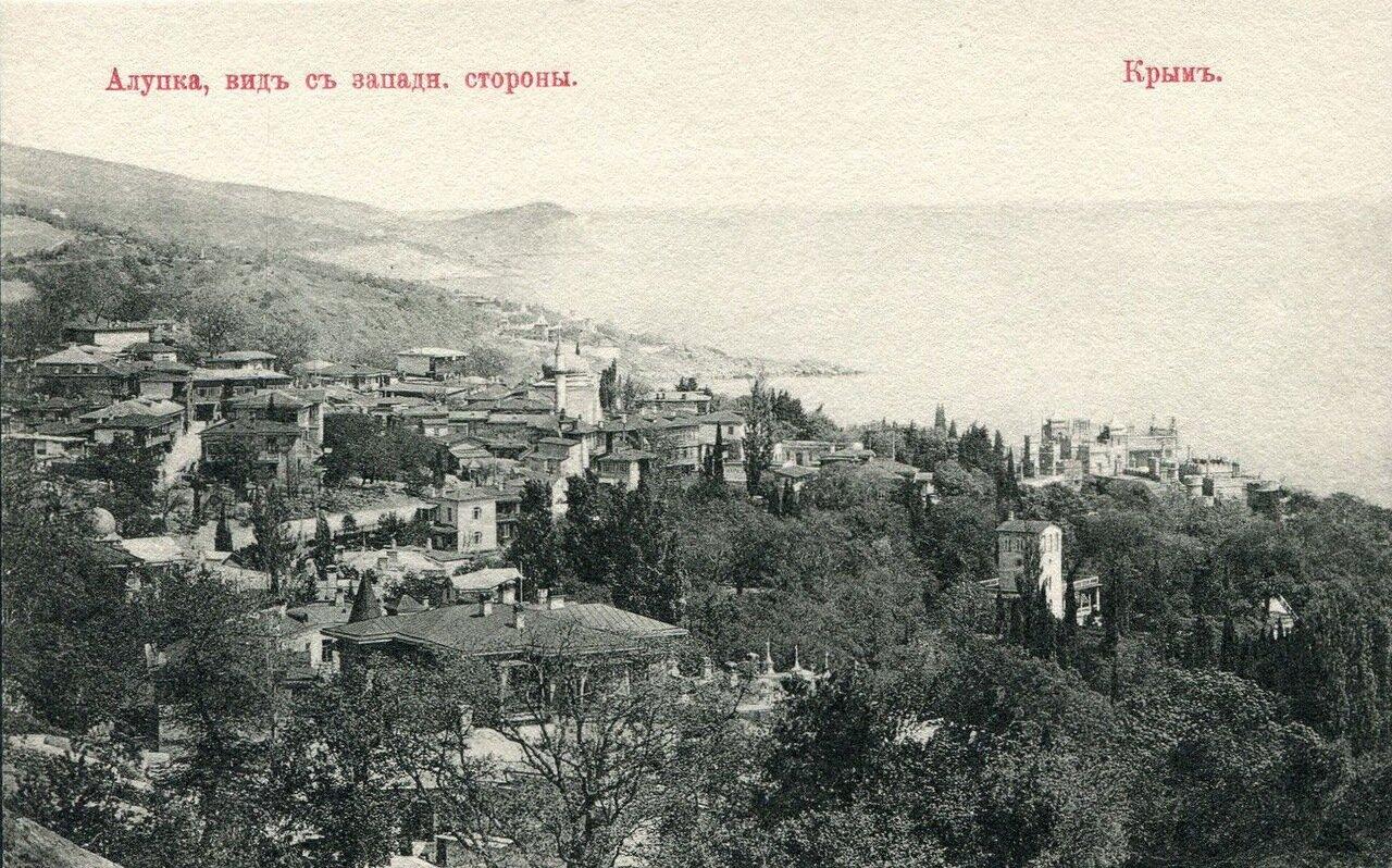 Вид с западной стороны