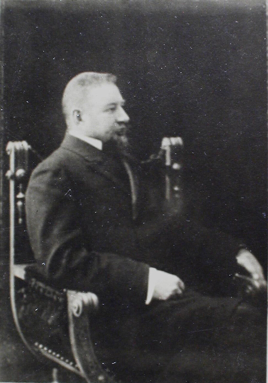 10.а. Ординарный профессор всеобщей истории статский советник Александр Александрович Васильев  (4 октября 1867, Санкт-Петербург — 30 мая 1953, Вашингтон)