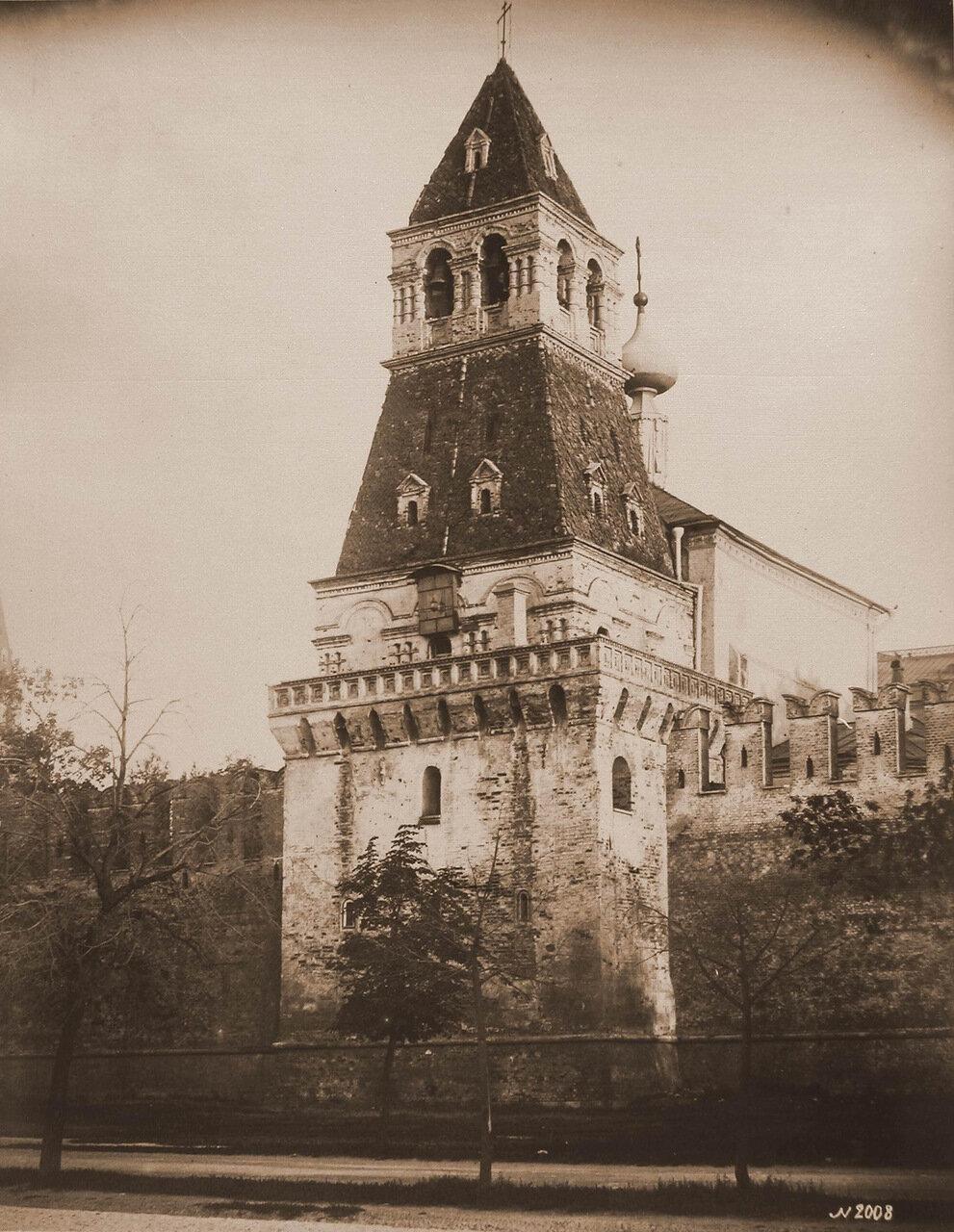 Вид Благовещенской башни Кремля