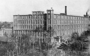Текстильная фабрика. 1900-е