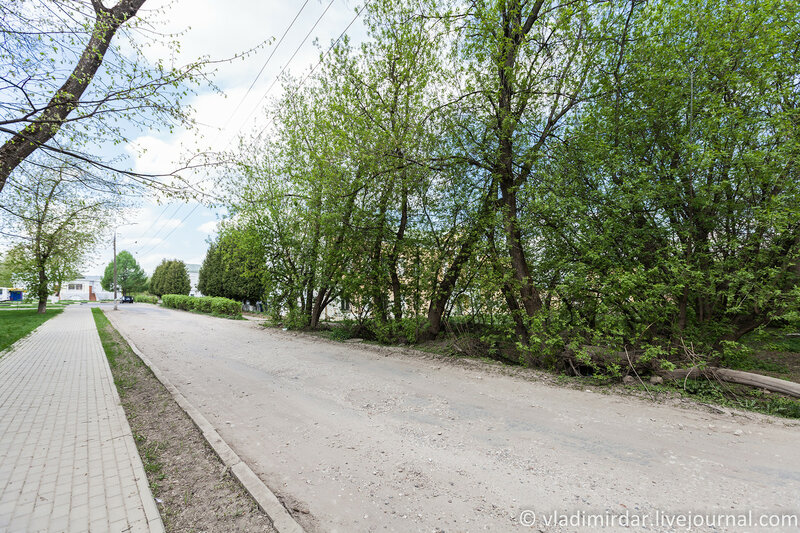 Усадьба Ивановсое. Вид со стороны жилых кварталов Подольска.
