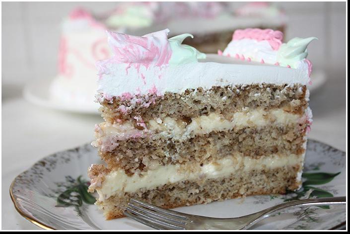 орехово-кокосовый торт фото рецепт