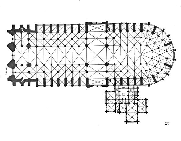 План собора Парижской