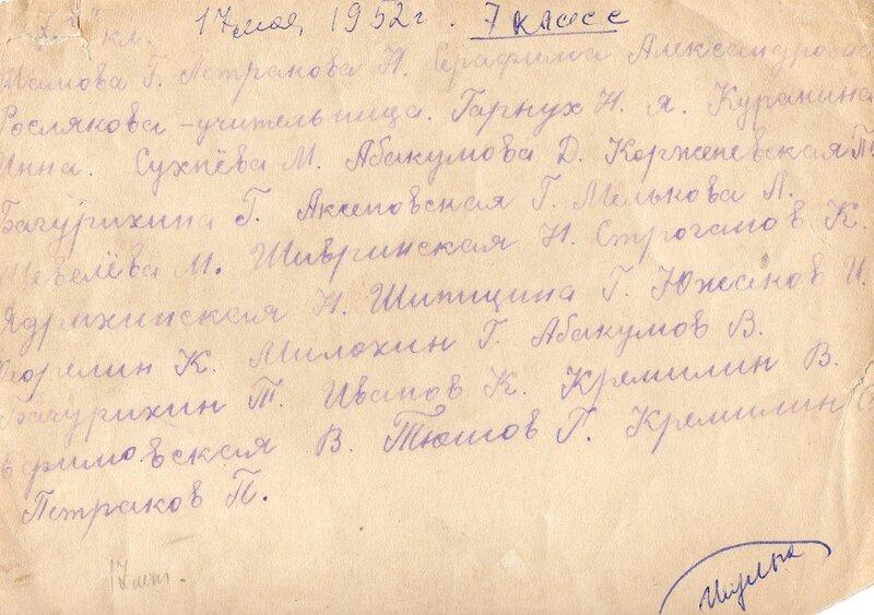 Выпуск 1965 г.