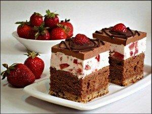 Клубничные пирожные: рецепты, советы, идеи оформления