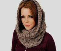 шарф-хомут или снуд