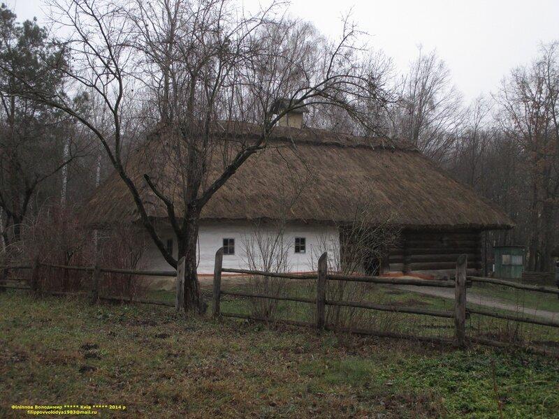 Музей народной архитектуры и быта в Пирогово.
