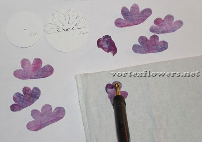 Староанглийская роза из ткани своими руками