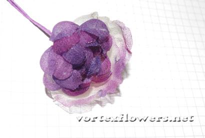 Как сделать розу английскую из ткани