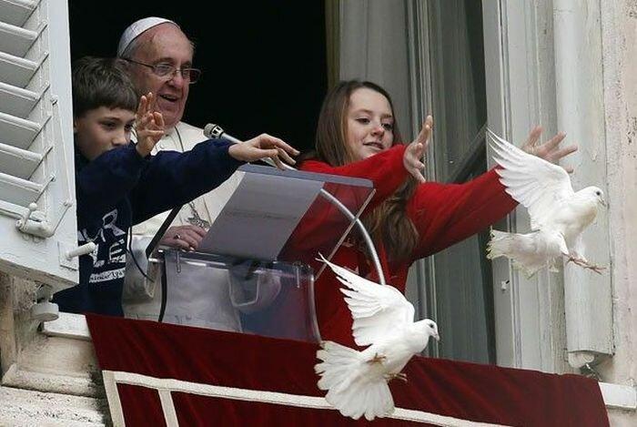 Папа Римский выпустил
