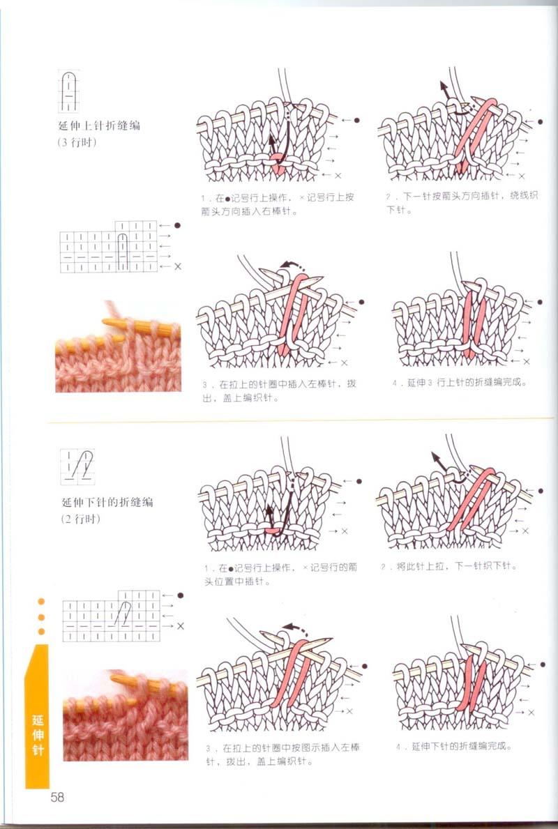 Условные обозначения вязание спицами с японских журналов с