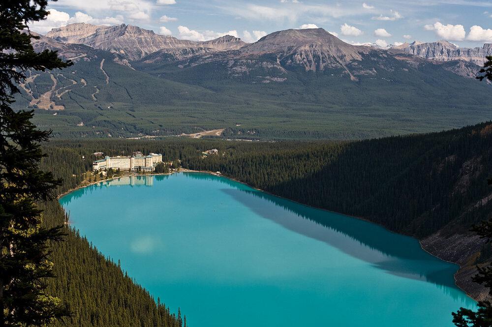 фото озеро луиза канада